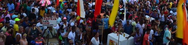 Último dia de cortejo do Rasgadinho atrai mais de 80 mil foliões, diz organização (Último dia de cortejo do Rasgadinho atrai mais de 80 mil foliões, diz organização (Marina Fontenele/G1))