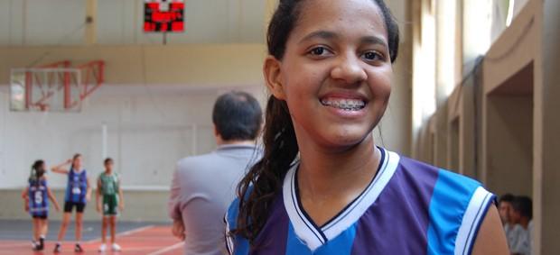 Malú Martins é eleita a melhor atleta das OEs (Foto: Renata Vasconcellos)