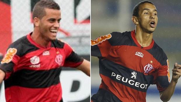 Montagem Flamengo Rodolfo e Rafinha (Foto: Editoria de arte)