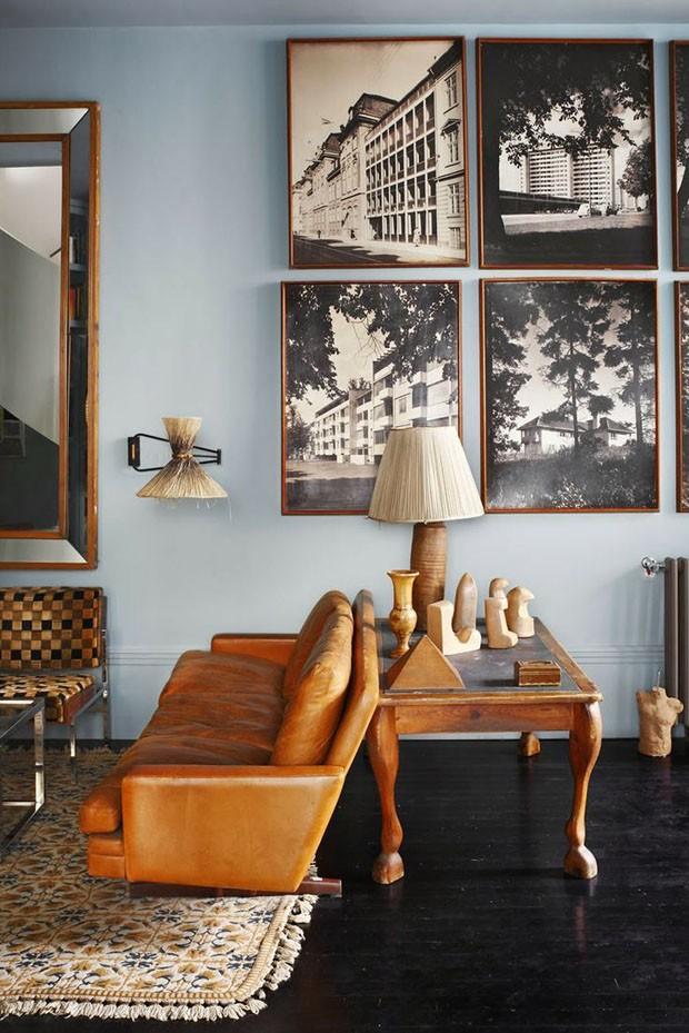 D cor do dia sala de materiais r sticos casa vogue d cor do dia for Home decoration meester