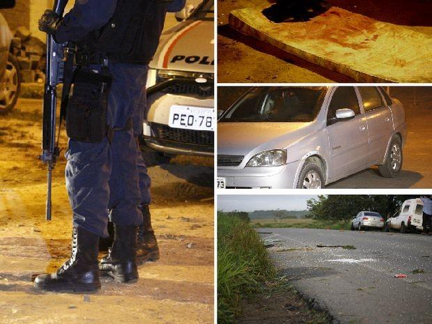 Carro usado na fuga e colchão usado na simulação estão entre os registros (Foto: João Áquila/ge.com)