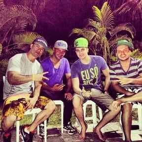Guto Oguido, personal do Luan Santana (Foto: Instagram / Reprodução)