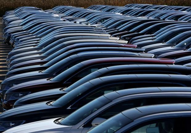 Carros da Ford - carro - carros - vendas - produção de carros - veículo -  (Foto: Chris Helgren/Reuters)