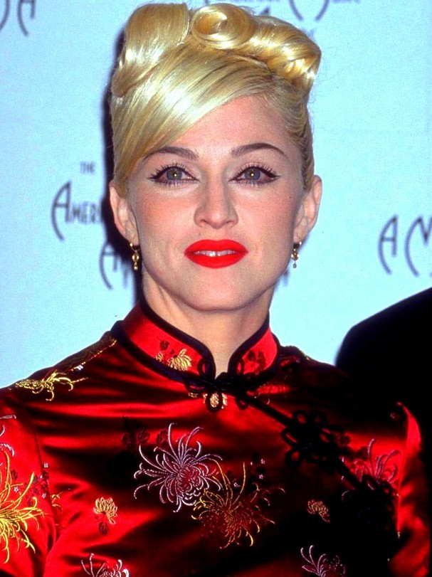 American actress and singer Madonna at the American Music Awards, 1999. (Photo by Diane Freed/Getty Images) (Foto: Getty Images)