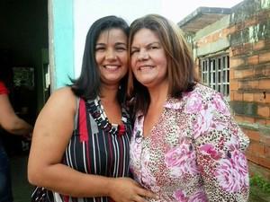 Semelhança entre Lucélia e a mãe de criação de Denise impressionou desde o início. (Foto: Denise Correa/Arquivo Pessoal)