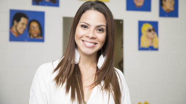 A atriz Cacau Melo (Foto: Samuel Kobayashi/Multishow)