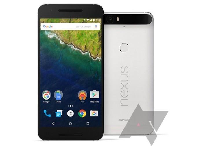 Foto vazada do Nexus 6P, da Huwaei, mostra barra preta na câmera e alto falantes frontais (Foto: Reprodução/Android Police)