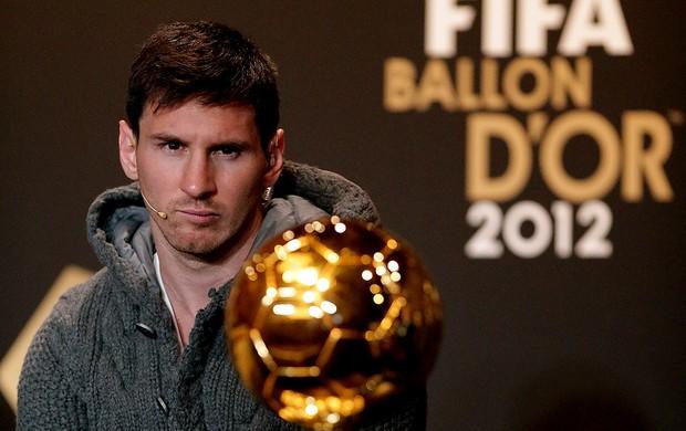 lionel messi bola de ouro premiação melhor do mundo (Foto: Agência Getty Images)