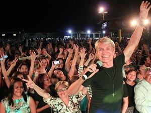 Zezinho Correa da banda Carrapicho  (Foto: Katiúscia Monteiro/ Rede Amazônica)