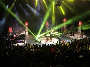 Ivete Sangalo canta na Concha Acústica (Foto: Ida Sandes / G1 BA)