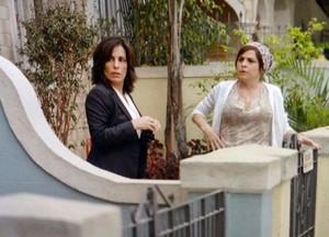 Roberta fica encantada ao ver Nando (Foto: Guerra dos Sexos / TV Globo)