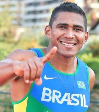 Ailson Feitosa, velocista Roraima (Foto: Divulgação/Revista Chilena de Atletismo)
