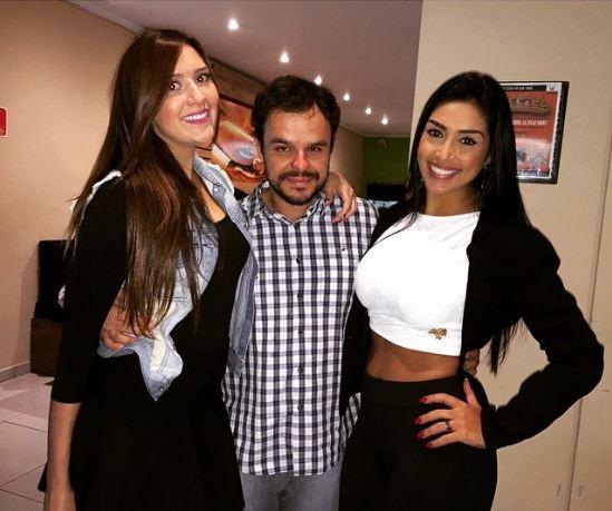 Tamires, Adrilles e Amanda (Foto: Instagram / Reprodução)