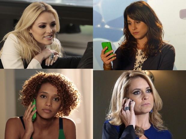 Dos clarinhos aos escuros. Confira o que colore as unhas da personagens (Foto: Felipe Monteiro/Geração Brasil/TVGlobo)