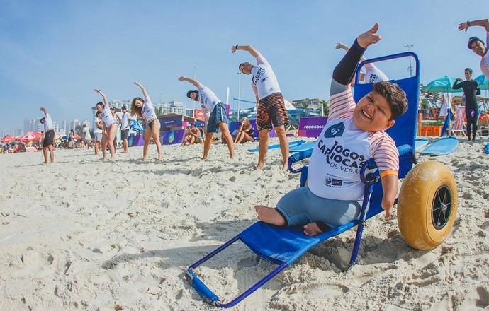 EuAtleta - Davizinho Jogos Cariocas de Verão (Foto: Divulgação)