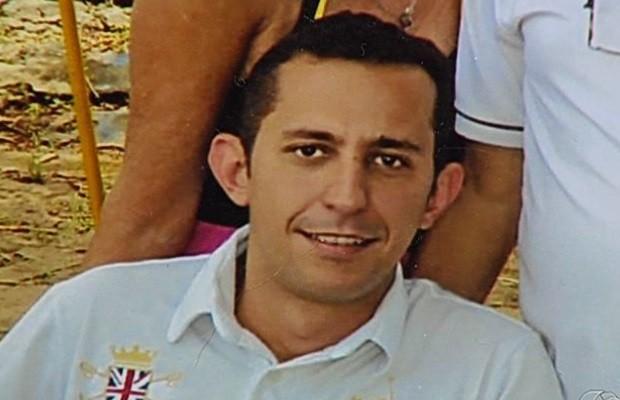 Alexandre Magno Morais Santos, corretor desaparecido em Abadia de Goiás (Foto: Reprodução/TV Anhanguera)