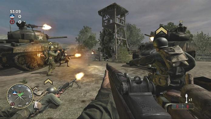 Call of Duty 3 (Foto: Reprodução)