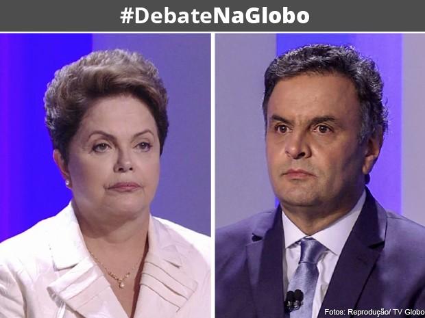 Debate na Globo (Foto: TV Globo)