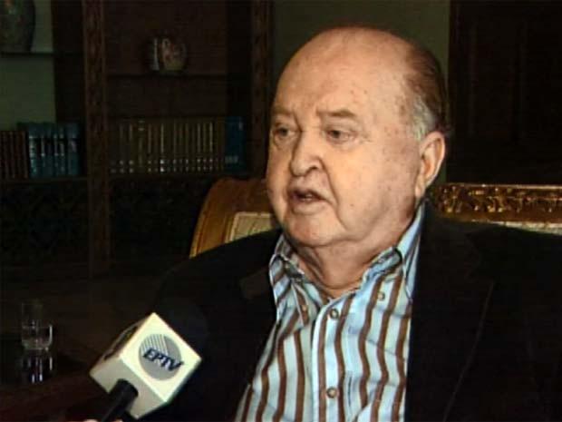 Ex-deputado Milton Reis, que nasceu em Congonhal (MG), morre aos 87 anos (Foto: Reprodução EPTV)