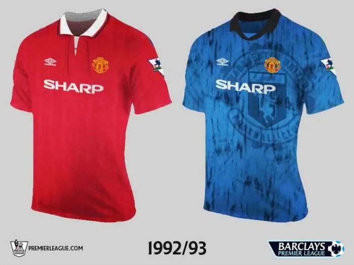 Manchester United Premier League Retrô