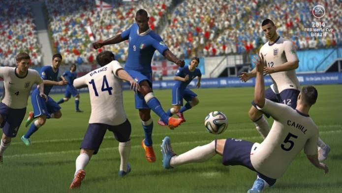 O atacante Mario Balloteli também marcará presença nos estádios brasileiros (Foto: Divulgação) (Foto: O atacante Mario Balloteli também marcará presença nos estádios brasileiros (Foto: Divulgação))