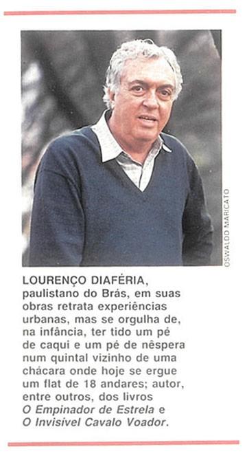 crônica-Lourenço-Diaféria  (Foto: Editora Globo )