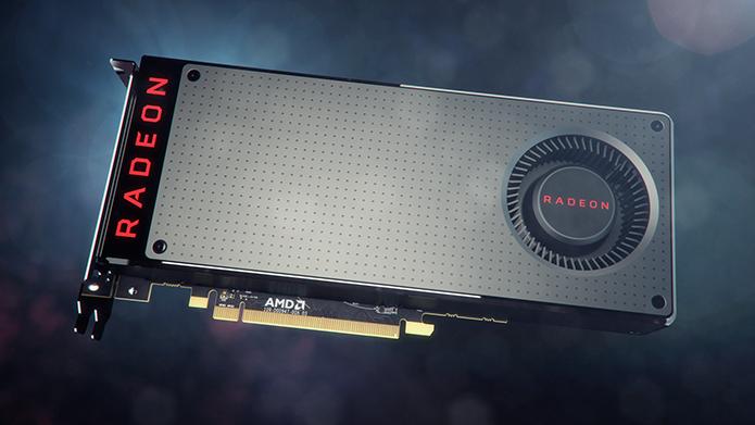 Placa oferece baixo consumo de energia e suporte à realidade virtual (Foto: Divulgação/AMD)
