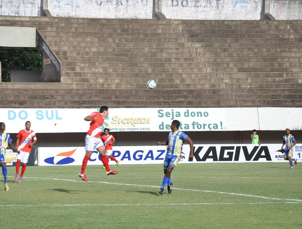 Comercial-MS recebe Maracaju no estádio Morenão, em Campo Grande (Foto: Hélder Rafael)