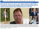 Cunhado de Príncipe Harry é preso após ameaçar namorada com arma