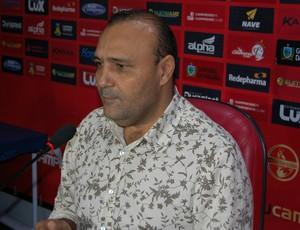 William Simões, presidente do Campinense (Foto: Silas Batista / GloboEsporte.com)