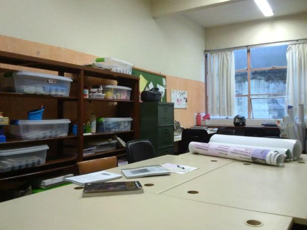 Instituto de Educação do Paraná foi o primeiro local a ter uma sala específica para atender os alunos no estado (Foto: Samuel Nunes/G1)