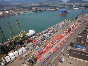Porto de Santos (Foto: Sérgio Coelho/Arquivo Pessoal)