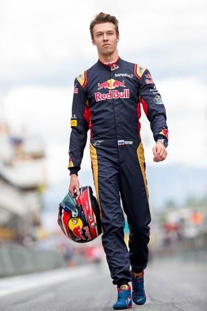 Daniil Kvyat STR GP da Espanha (Foto: Peter Fox / Getty Images)