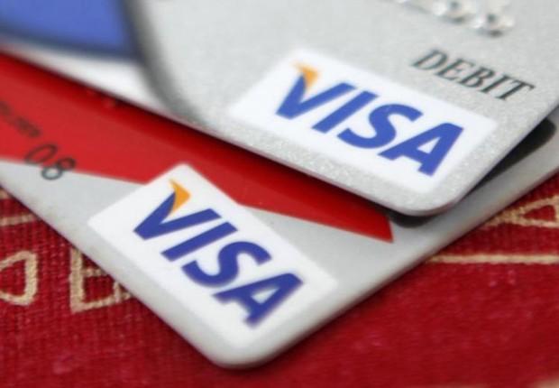 Cartão de crédito Visa (Foto: Jason Reed/Reuters)