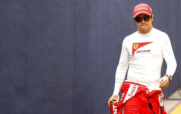 Felipe Massa no treino da F1 no GP de Mônaco (Foto: Reuters)