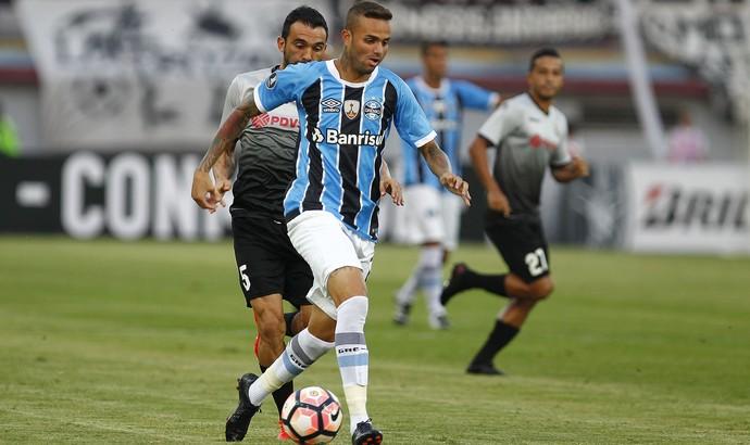 Zamora x Grêmio Libertadores Luan (Foto: Lucas Uebel / Grêmio / Divulgação)