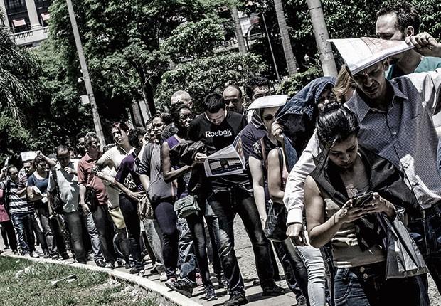 Economia;Crise;Desemprego (Foto: Agência O Globo)