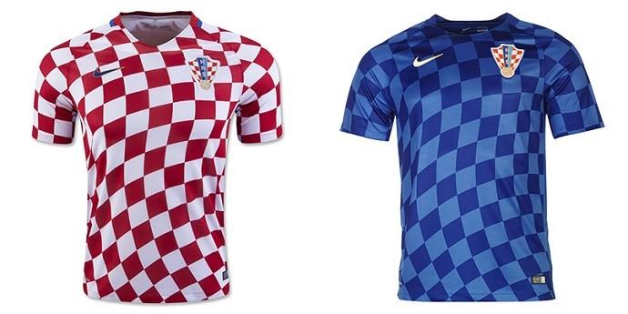 Camisas Eurocopa croacia