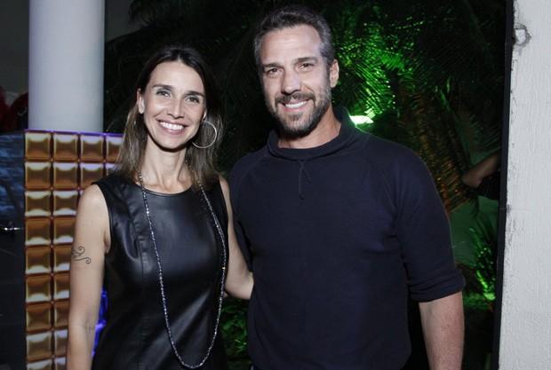 Carlos Bonow e Keila Kerber (Foto: Marcos Ferreira/Brazil News)