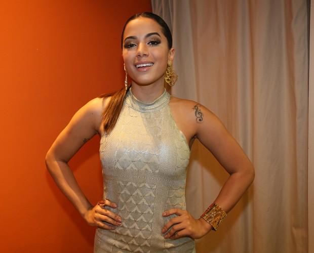 Com corpo sequinho, Anitta quer ficar mais magra (Foto: Carol Caminha/Gshow)