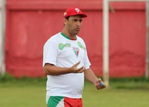 Eduardo Henrique treinador do CEOV Operário (Foto: Assessoria/CEOV)