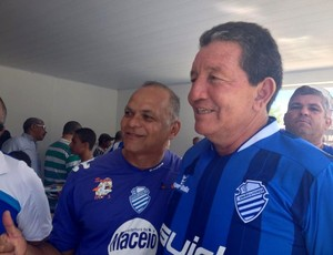 Dentinho CSA (Foto: Viviane Leão/GloboEsporte.com)