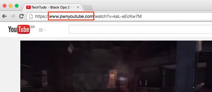 Coloque pwn antes de youtube (Foto: Reprodução/Paulo Alves)