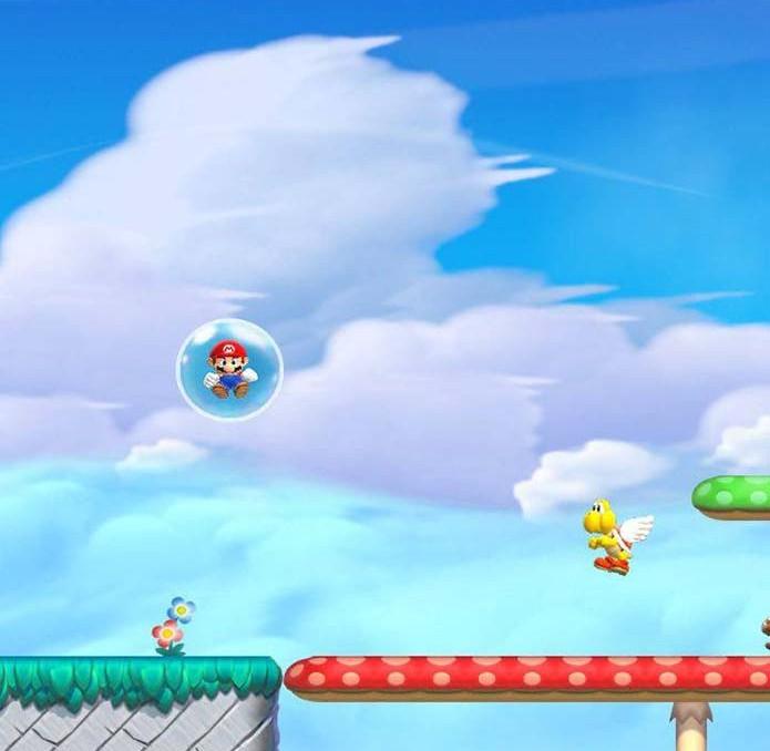 Use a bolha para voltar em Mario Run (Foto: Reprodução/Murilo Molina) (Foto: Use a bolha para voltar em Mario Run (Foto: Reprodução/Murilo Molina))