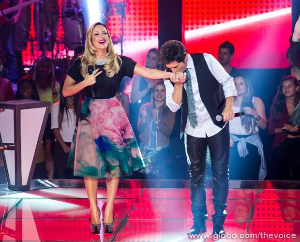 """A música escolhida para a apresentação é """"Enamorado"""" (Foto: Isabella Pinheiro/TV Globo)"""