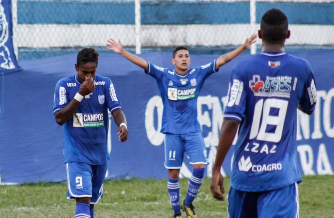 gol de paquetá, goytacaz x portuguesa (Foto: Carlos Grevi / Site Ururau)