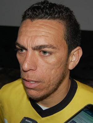 André Beleza, meia do Treze (Foto: Silas Batista / GloboEsporte.com)