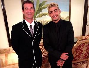 Pedro Scooby e Bob Burnquist - Prêmio Laureus (Foto: Reprodução/Facebook)