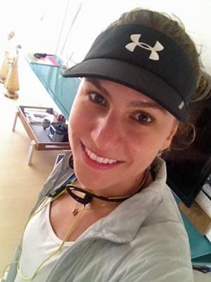 Priscilla está se recuperando e já voltou a se exercitar - com moderação (Foto: Arquivo pessoal)