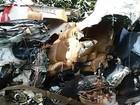 Acidente entre carro e caminhão deixa uma pessoa morta na PR-323
